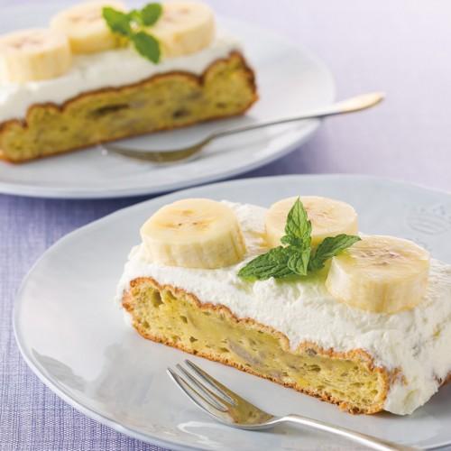 バナナスポンジケーキ